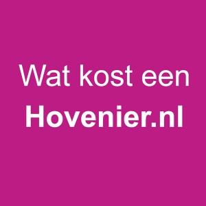 Wat kost een hovenier.nl